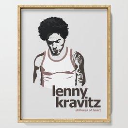 Lenny Kravitz - Portrait II Serving Tray