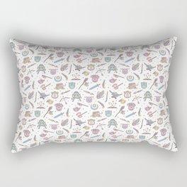 Cute Dungeons and Dragons Pattern Rectangular Pillow