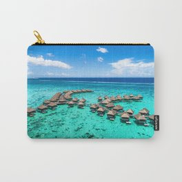 Tahiti paradise honeymoon vacation destination Carry-All Pouch