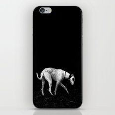 silver shadow iPhone & iPod Skin