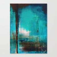 industrial Canvas Prints featuring Industrial by Victoria Black