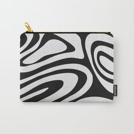 Black & White Minimal III Carry-All Pouch