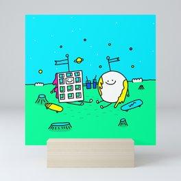Waffle & Pancake Friends Mini Art Print
