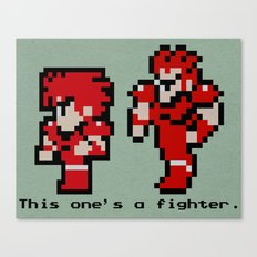 This One's A Fighter Canvas Print