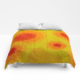 Summer Abstraction Comforters