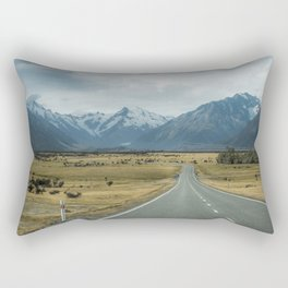 Mount Cook Road 3 Rectangular Pillow