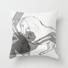 Temper Throw Pillow