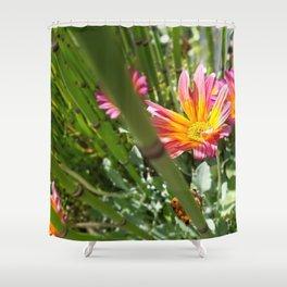 Finn's Flower Shower Curtain