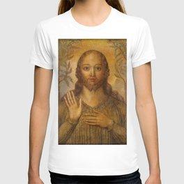 """William Blake """"Christ Blessing"""" T-shirt"""
