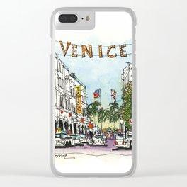 Venice, California Clear iPhone Case