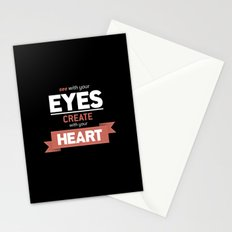 ...Create With Your Heart Stationery Cards