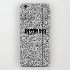 Insomnia iPhone & iPod Skin