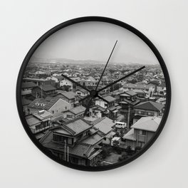 Fukuoka, Japan june 2018 Wall Clock