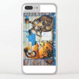 Chums Clear iPhone Case