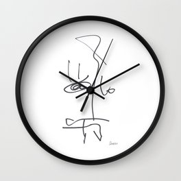 Demeter Moji d21 7-7 w Wall Clock