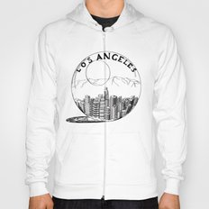 Los Angeles in a glass ball Hoody