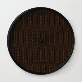 Nylon Stocking Fishnet Grid Wall Clock