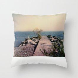 R.C. Harris Beach Spectra Color Throw Pillow