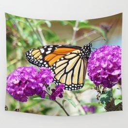 Summer Monarch Wall Tapestry