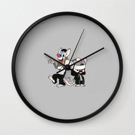Jay and Silent Brain Wall Clock