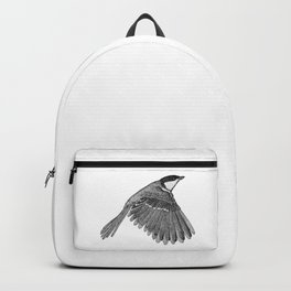 A Great tit named Titus Backpack
