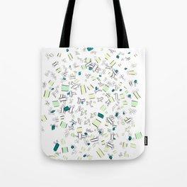 Splitting Atoms Tote Bag
