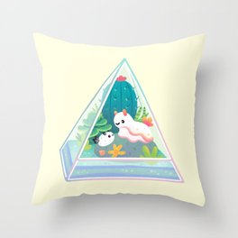 Ocean terrarium - Sea slug Throw Pillow