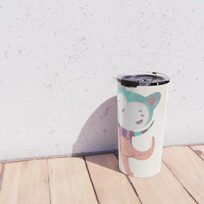 Dance Dreams (Cream) Travel Mug