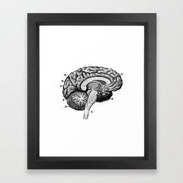 Brain 2 Framed Art Print