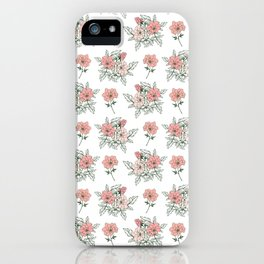 Delicate floral. iPhone Case