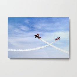 Wing Walkers 1 Metal Print