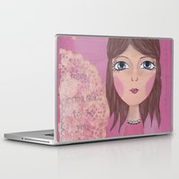 courage Laptop & iPad Skins featuring Courage by ArtByBeata