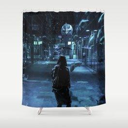 Hello! Shower Curtain
