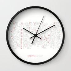 Hungarian Embroidery no.12 Wall Clock