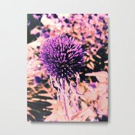 Purple Pop-up Metal Print