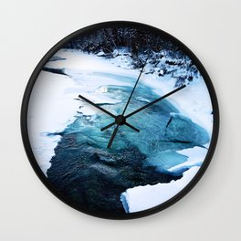 River Monster Wall Clock