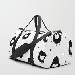 Cute avocado Duffle Bag
