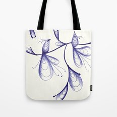 By the Light, of the Silvery Moon Tote Bag