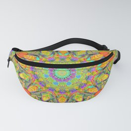 Abstract Flower AAA QQ YYY Fanny Pack