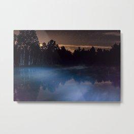 Magic Mist Metal Print