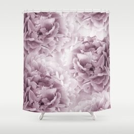 Mauve Peonies Dream #1 #floral #decor #art #society6 Shower Curtain