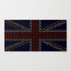 digital Flag (Union Jack) Canvas Print