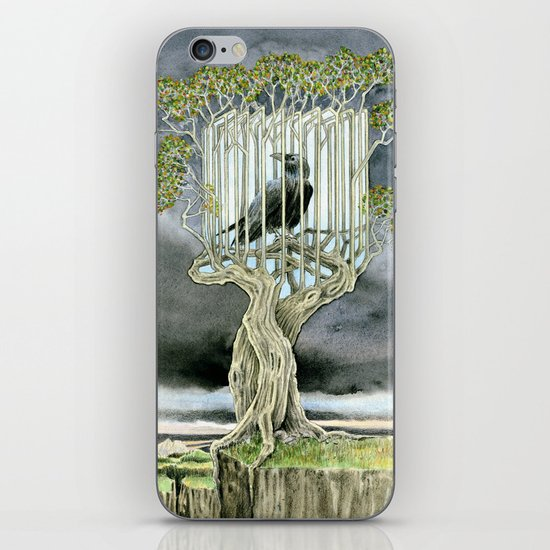 Wicked nature iPhone & iPod Skin