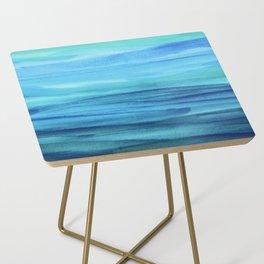Cerulean Sea Side Table
