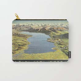 Vintage poster - Lake of Thun Carry-All Pouch