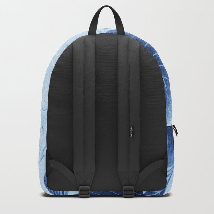 Wildflower II - indigo Backpack