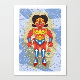 Wonderbot Canvas Print