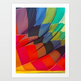 Brighten up and away your day Art Print
