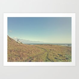 Lost Coast of California Art Print
