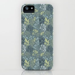 Kelp Pattern iPhone Case